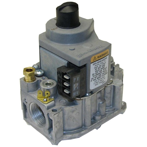 """Vulcan 844133-00001 Equivalent Gas Safety Valve; Natural Gas; 3/4"""" Gas In / Out; 1/4"""" Pilot In / Out"""