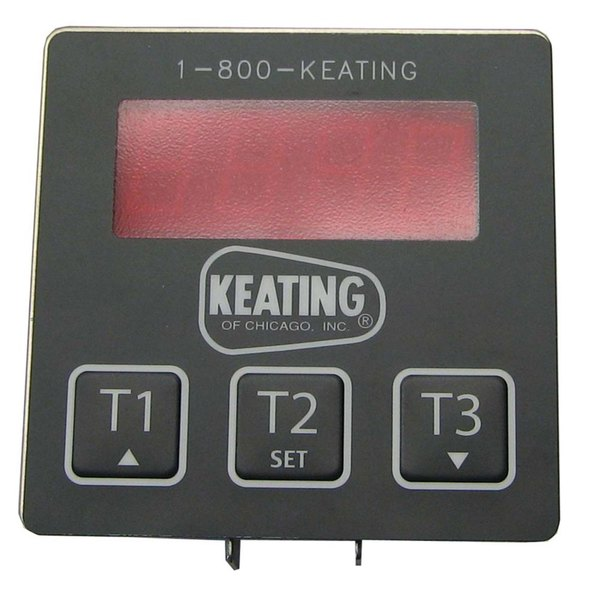 "All Points 42-1542 3"" x 3"" Electronic Timer with 3 Presets Main Image 1"