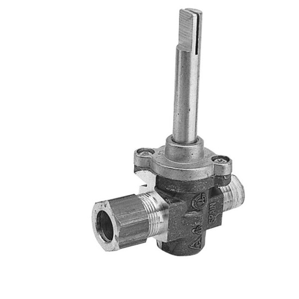 """Montague 23688-8 Equivalent Gas Valve; 1/4"""" Gas In x 7/16"""" Gas Out"""