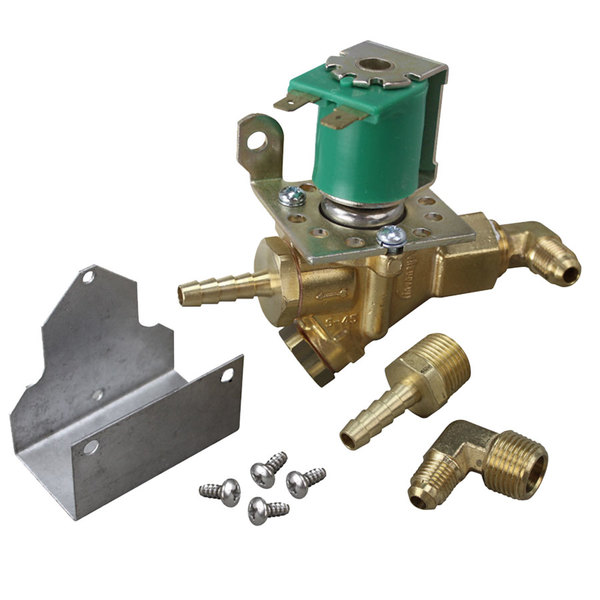 "Scotsman 12-2907-01 Equivalent Water Inlet Solenoid Valve; 3/16"" CCT; 120V Main Image 1"