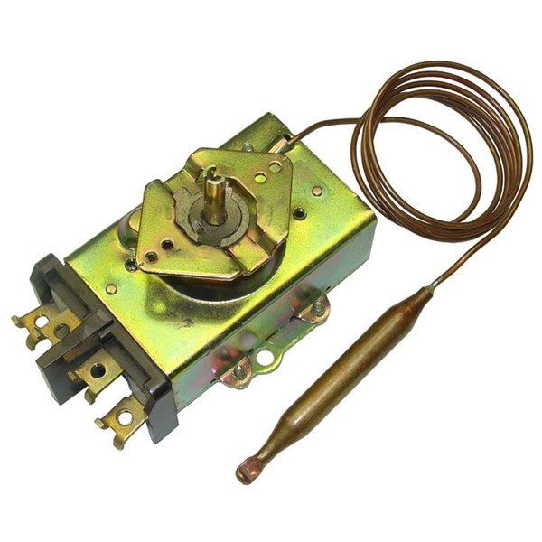 """All Points 46-1345 Thermostat; Type D1; Temperature 200 - 550 Degrees Fahrenheit; 48"""" Capillary"""
