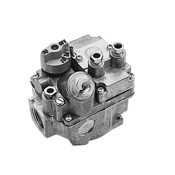 "Vulcan 412196-00G17 Equivalent Type BMSGOR Gas Safety Valve; Natural Gas; 3/4"" Gas In / Out; Bleed Gas Actuator"