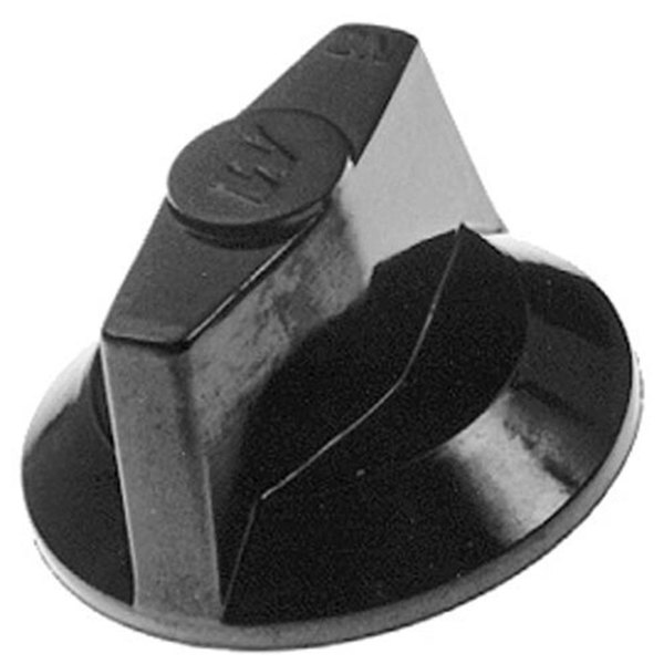 "Vulcan 719256-2 Equivalent 2 1/2"" Broiler Burner Valve Knob (Off, On)"