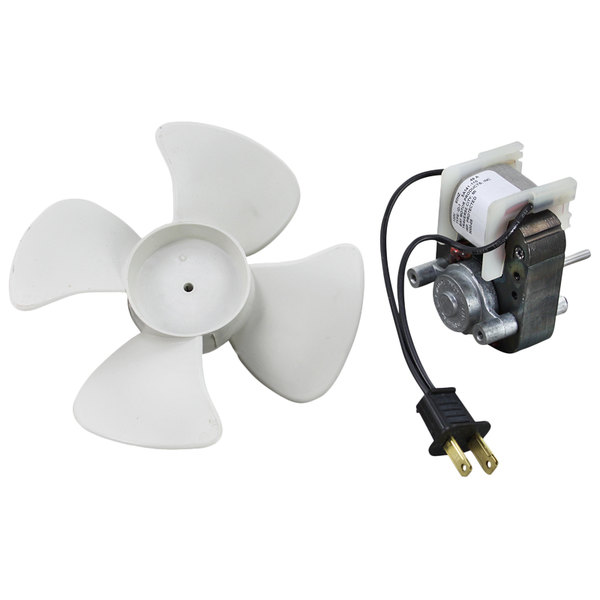 """Victory 50602101 Equivalent Evaporator Fan Motor with 6"""" Fan Blade for Victory - 120V Main Image 1"""