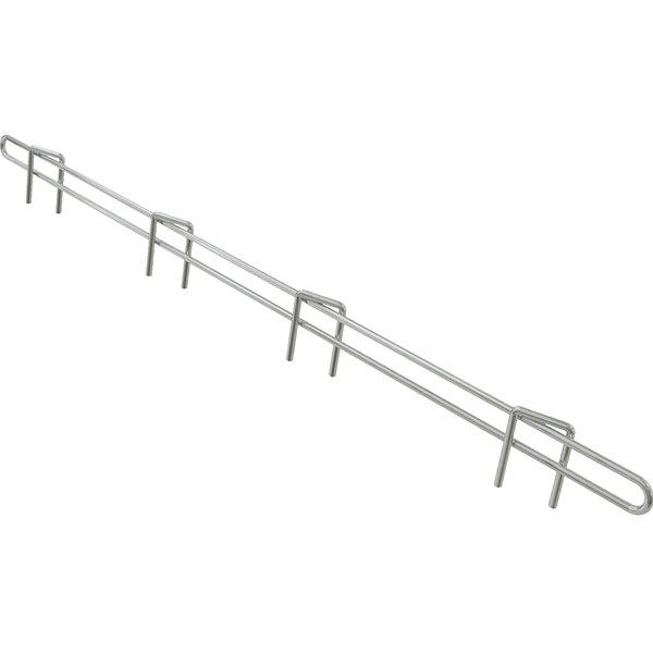 "Metro L24N-1S Super Erecta Stainless Steel Ledge 24"" x 1"" Main Image 1"