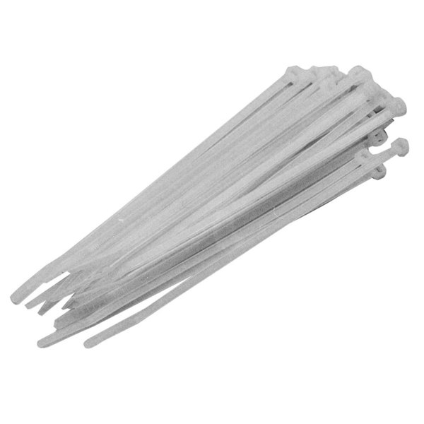 "All Points 85-1073 7 1/2"" Nylon Cable Ties - 100/Pack"