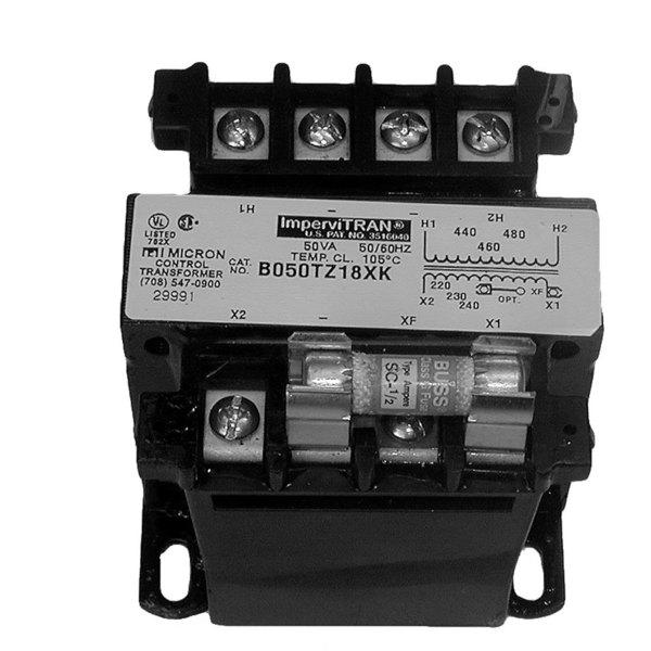 Hatco R02.17.002 Equivalent 50VA Transformer - 460V Primary, 230V Secondary