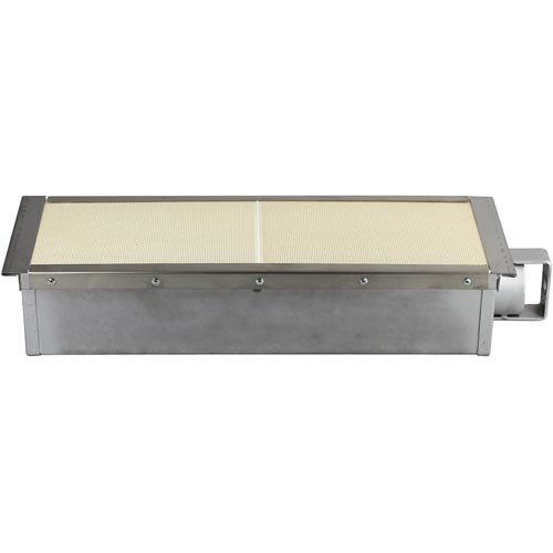 """All Points 26-3690 18 3/4"""" x 6"""" Infrared Cheese Melter Burner Main Image 1"""