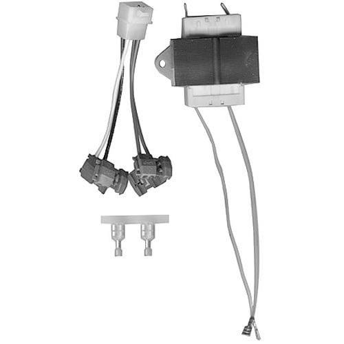 Lincoln 369531 Equivalent 40VA Transformer with Wire Harness - 120V Primary, 24V Secondary Main Image 1