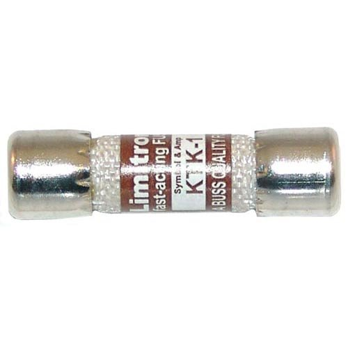 "Bussmann KTK-1 Equivalent 13/32"" x 1 1/2"" 1A Fast Acting KTK-1 Glass Fuse - 600V"