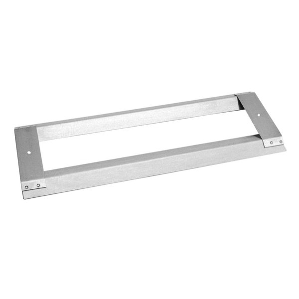 """All Points 26-2114 16 1/4"""" x 6 1/4"""" Stainless Steel 4-Sided Burner Guard Main Image 1"""