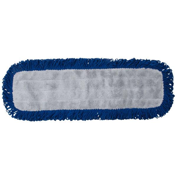 "Knuckle Buster MFVM24 24"" Microfiber Dry Velcro® Dust Mop Main Image 1"