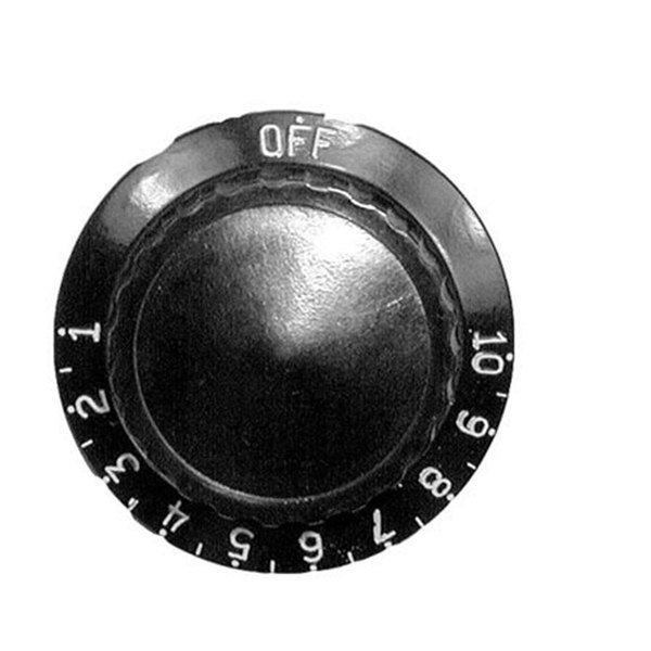 """All Points 22-1145 2"""" Warmer / Proofer Thermostat Dial (Off, 1-10)"""