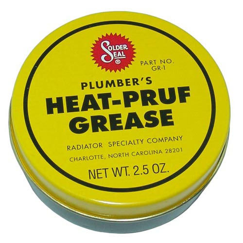 All Points 85-1119 Plumber's Heat Proof Grease - 2.5 Oz. Can Main Image 1