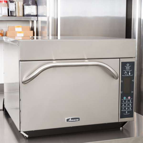 Amana Xpress AXP22T High-Speed Accelerated Cooking Countertop Oven with Touch Screen Display