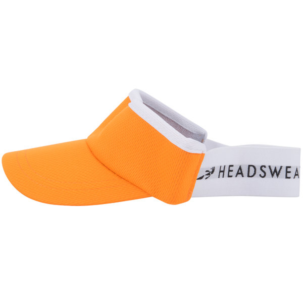 2b58cc0dbcd00 Headsweats Orange Customizable CoolMax Chef Visor