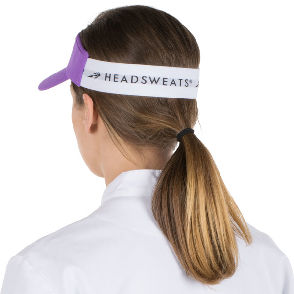 bfcf7793fff1c Headsweats Purple Customizable CoolMax Chef Visor. Main Picture · Image  Preview
