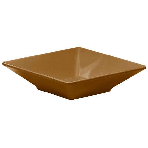 Elite Global Solutions DB834SQ Squared Tapenade 1.6 Qt Square Melamine Bowl - 6/Case