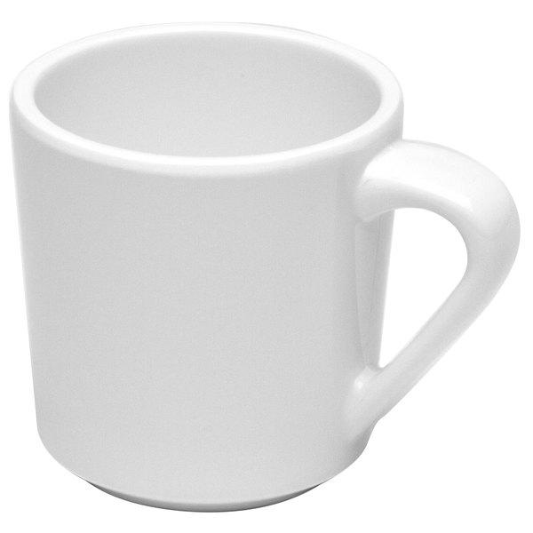 Elite Global Solutions DC-W Merced 10 oz. White Mug - 6/Case