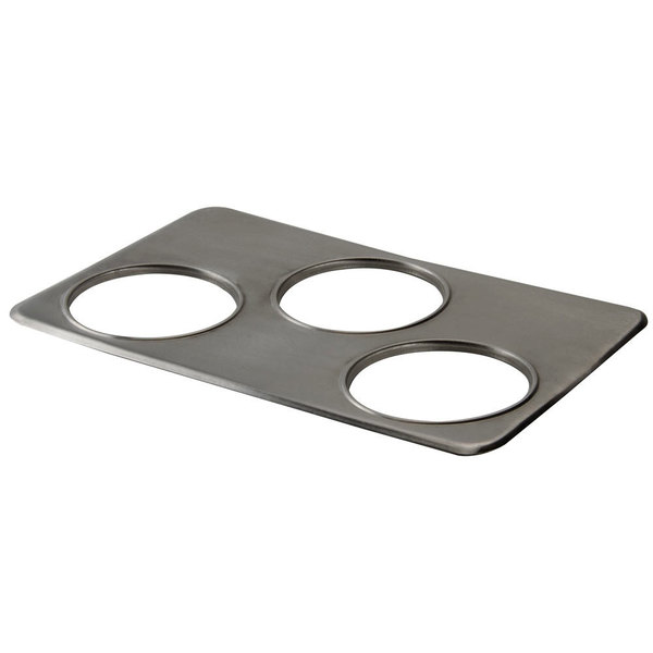 Nemco 67860 Three Hole Adapter Plate for 4 Qt. Insets