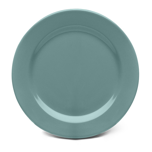 """Elite Global Solutions D612PL Urban Naturals Abyss 6 1/2"""" Round Melamine Plate"""
