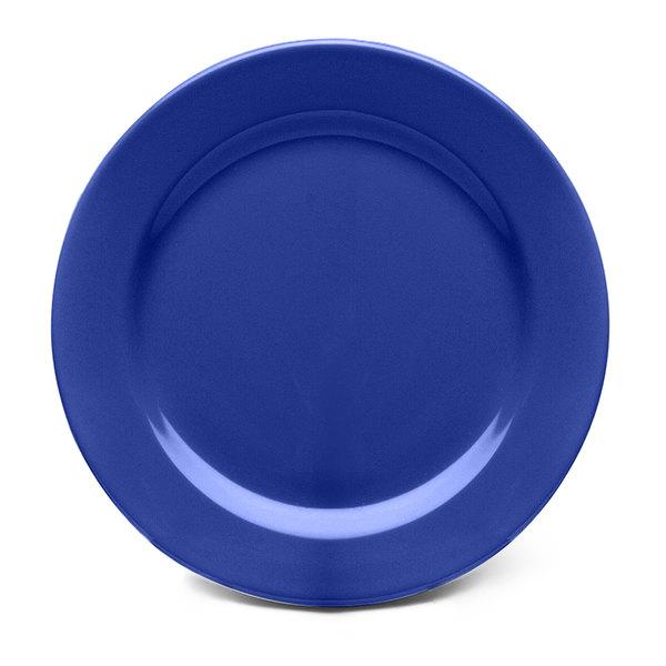 "Elite Global Solutions D9PL Rio Winter Purple 9"" Round Melamine Plate - 6/Case"