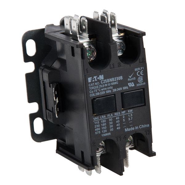 Replacement Non-Reversing Contactor - 30A, 208/240V, 2 Pole