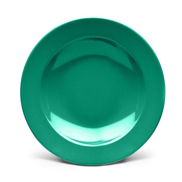 Elite Global Solutions D878PB Rio Autumn Green 12 oz. Round Melamine Pasta / Soup Bowl