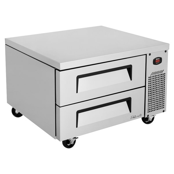 """Turbo Air TCBE-36SDR-N6 36"""" Two Drawer Refrigerated Chef Base"""