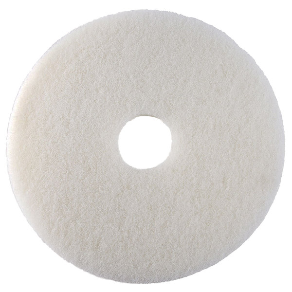 "Oreck 82005 Equivalent 17"" White Polishing Floor Pad"