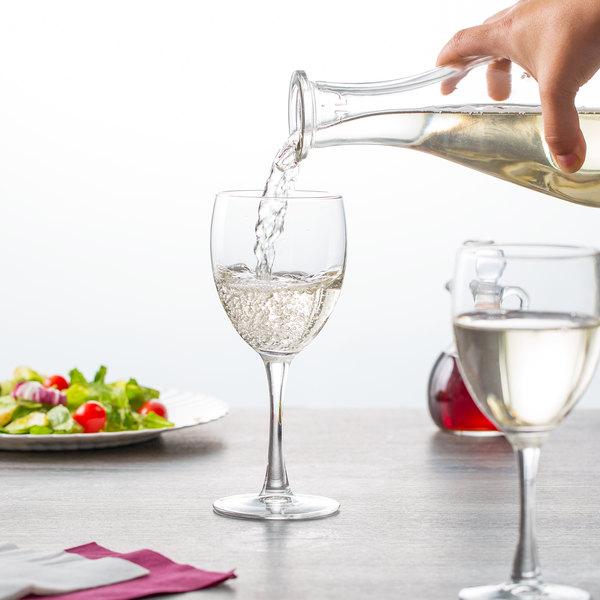 Arcoroc D1CM5312 Excalibur 12 oz. Wine Glass with Pour Line by Arc Cardinal - 24/Case Main Image 2