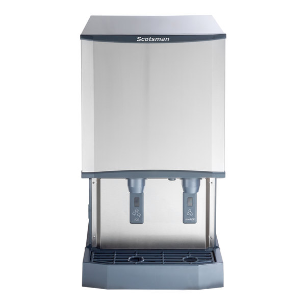 Scotsman MDT5N40A-1 Countertop Air Cooled Ice Machine and Dispenser - 40 lb. Bin Storage