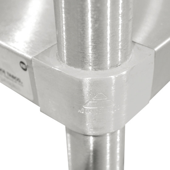 advance tabco kslag 300 x 30 x 30 16 gauge stainless