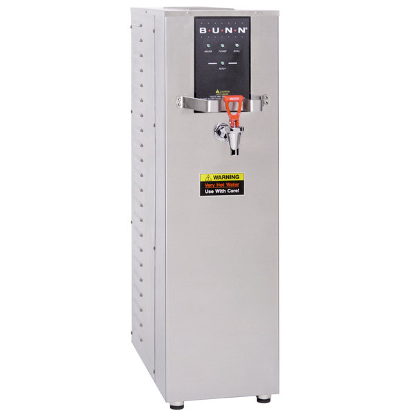 Bunn 26300.0001 H10X-80-208 10 Gallon Hot Water Dispenser, 212 Degrees Fahrenheit - 208V
