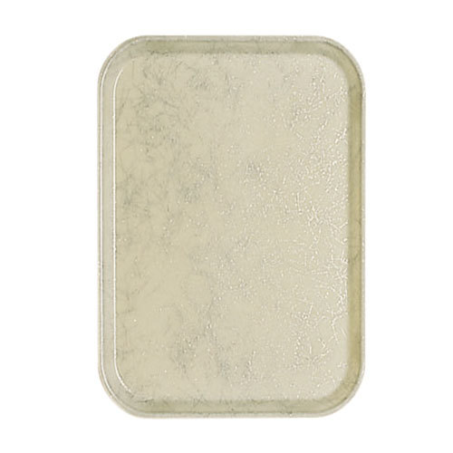 """Cambro 1015526 10 1/8"""" x 15"""" Galaxy Gold Antique Parchment Customizable Insert for 1520 Fiberglass Camtray - 24/Case"""