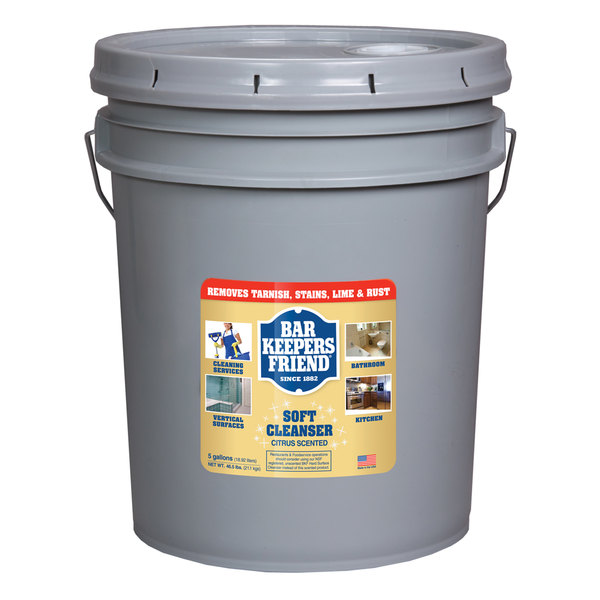 Bar Keepers Friend 11608 5 gallon / 640 oz. All Purpose Soft Cleanser Main Image 1