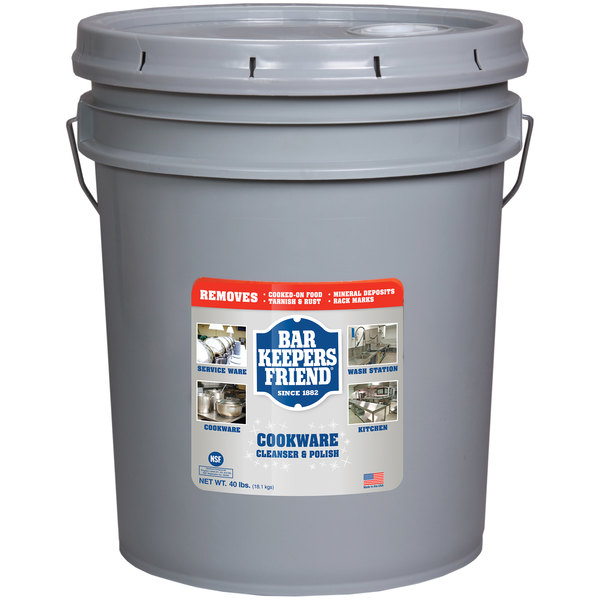 Bar Keepers Friend 11556 40 lb. / 640 oz. Cookware Cleansing & Polishing Powder