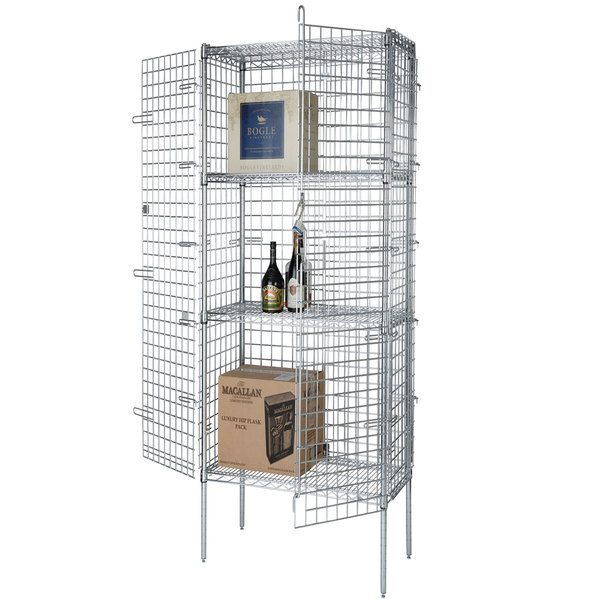 Wire Security Cage - 18 inch x 36 inch x 63 inch