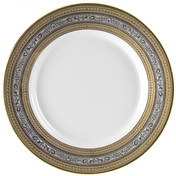 10 Strawberry Street ELE-24 11 7/8\  Elegance Round Charger Plate - 12/Case  sc 1 st  WebstaurantStore : 10 strawberry street dinnerware - pezcame.com