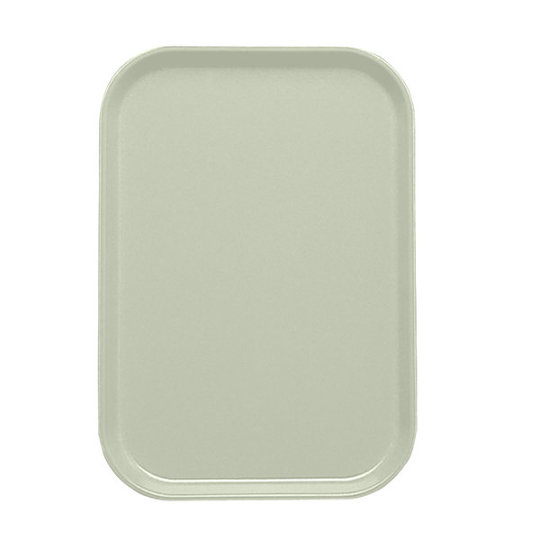 "Cambro 1116429 10 7/8"" x 15 7/8"" Key Lime Customizable Insert for 1622 Fiberglass Camtray - 24/Case"