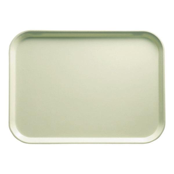 "Cambro 2025429 20 3/4"" x 25 9/16"" Rectangular Key Lime Customizable Fiberglass Camtray - 6/Case"