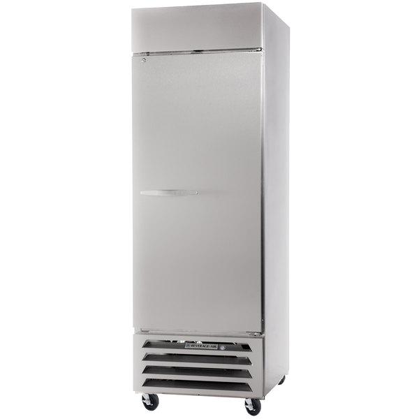 "Beverage-Air HBF27-1-S Horizon Series 30"" Solid Door Reach-In Freezer with LED Lighting"