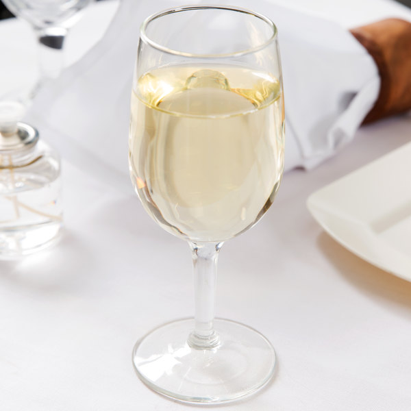 Libbey 8466 Citation 6.5 oz. Tall Wine Glass - 36/Case