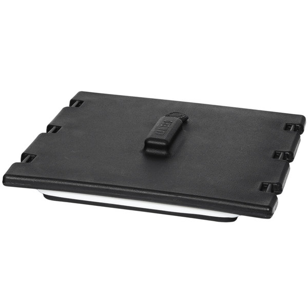 Cambro 6323110 Black Camtainer Lid with Vent and Gasket