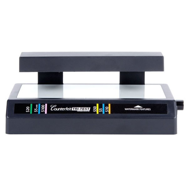 Three-in-One Counterfeit Bill Detector with UV Light, Backlight, and Pen