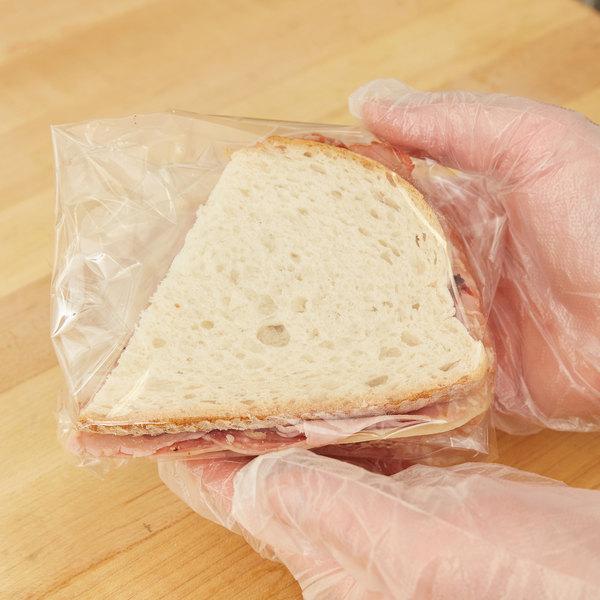 "15"" x 15"" Clear Sandwich / Gift Wrap - 1000/Pack"