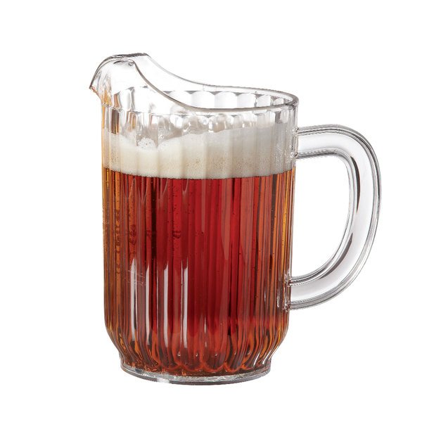 GET P-3032-1-CL 32 oz. Clear Pitcher - 12/Case