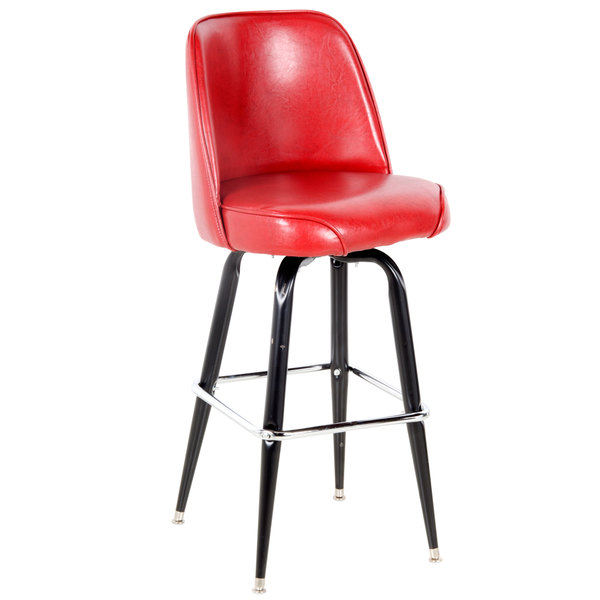 Lancaster Table U0026 Seating Deluxe Crimson Barstool With 19 Photo