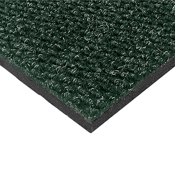 "Cactus Mat 1082M-G35 Pinnacle 3' x 5' Vibrant Sea Green Upscale Anti-Fatigue Berber Carpet Mat - 1"" Thick Main Image 1"