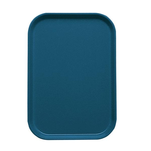 "Cambro 1015401 10 1/8"" x 15"" Slate Blue Customizable Insert for 1520 Fiberglass Camtray - 24/Case"